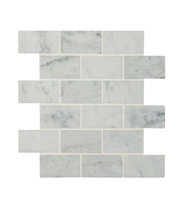 MS International Carrara White Polished Marble Mosaic Floor and Wall Tile