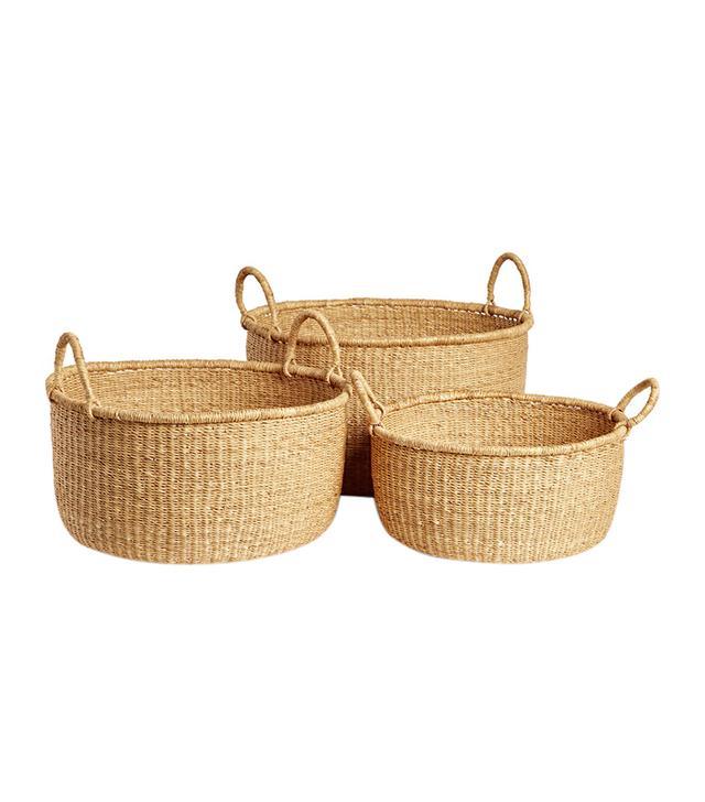 Natural Woven Baskets