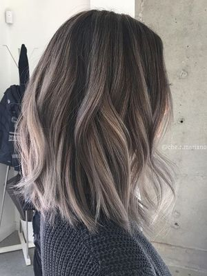 7 Ash-Brown Hair Shades That Are Super Popular on Pinterest