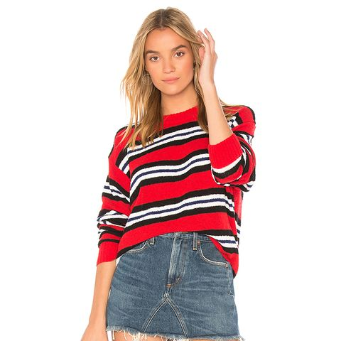 Robbins Sweater in Red