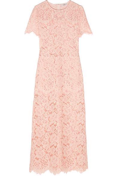 Duval Corded Lace Midi Dress