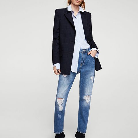 Relaxed Girlfriend Jeans