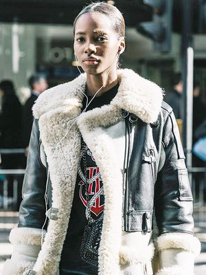 The Coolest Ways to Wear Shearling This Winter