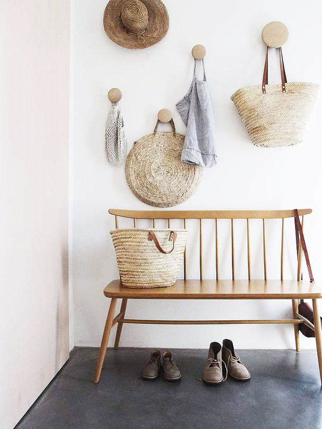 Wooden Garden Chair Styled Indoors