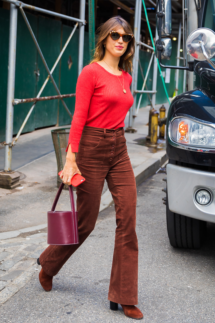 the outfits that are perfect with corduroy pants
