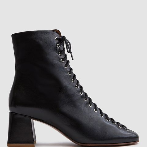 Becca Boot in Black Leather