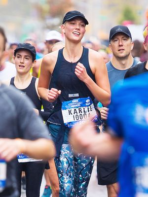 This Is How Karlie Kloss Recovered During Her Marathon Training