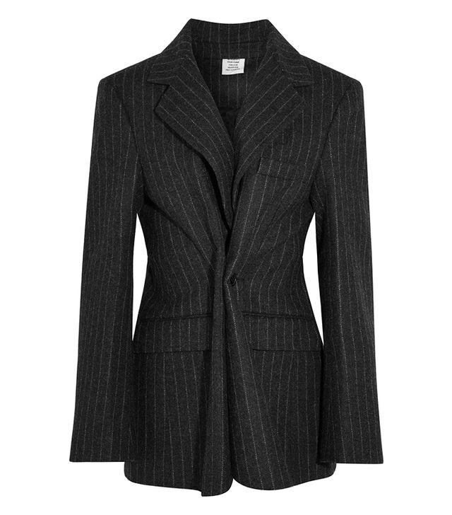 Vetements Pinstripe Blazer