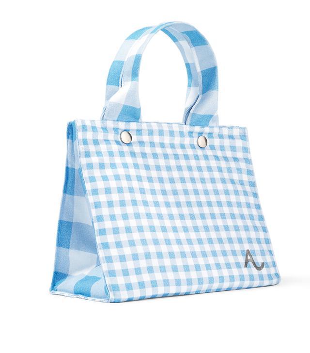 Amex x Alexachung Gingham Tote Bag