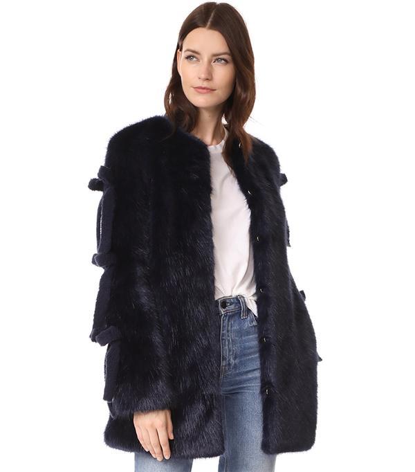 Shrimps Elsie Coat ($895)