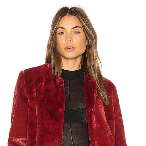 Heidi Faux-Fur Jacket