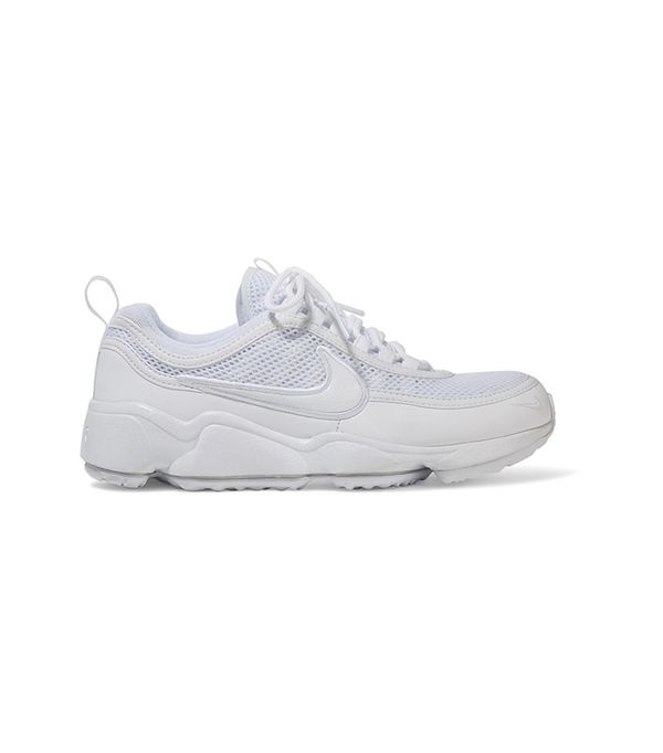Air Zoom Spiridon Ultra Leather And Mesh Sneakers