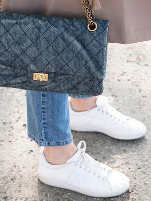 The White Sneakers Nearly Every Fashion Girl Owns
