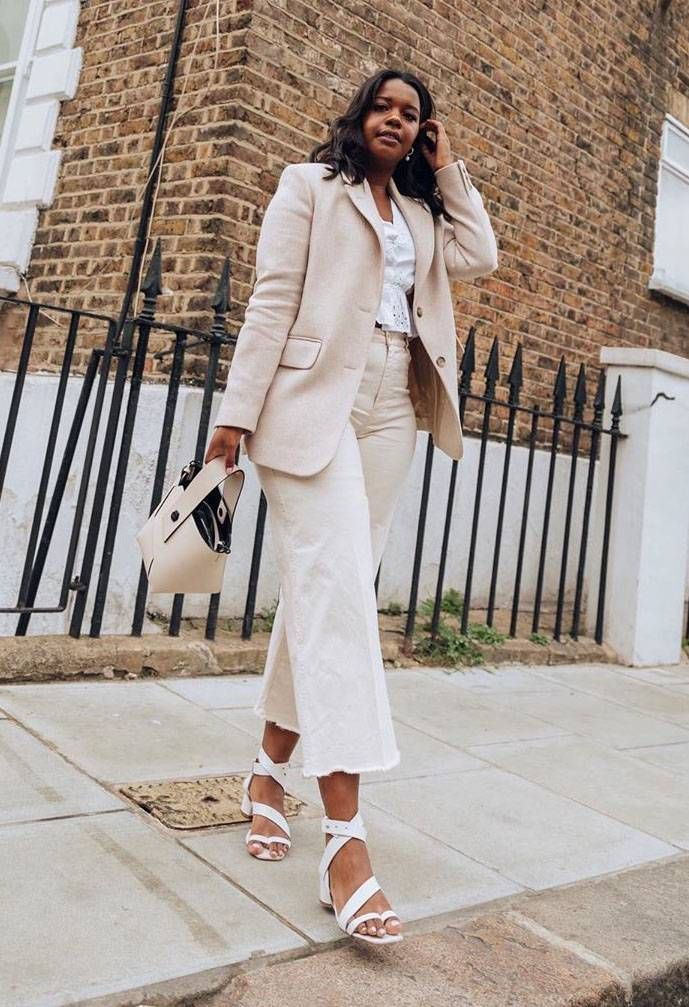 how to wear white for spring