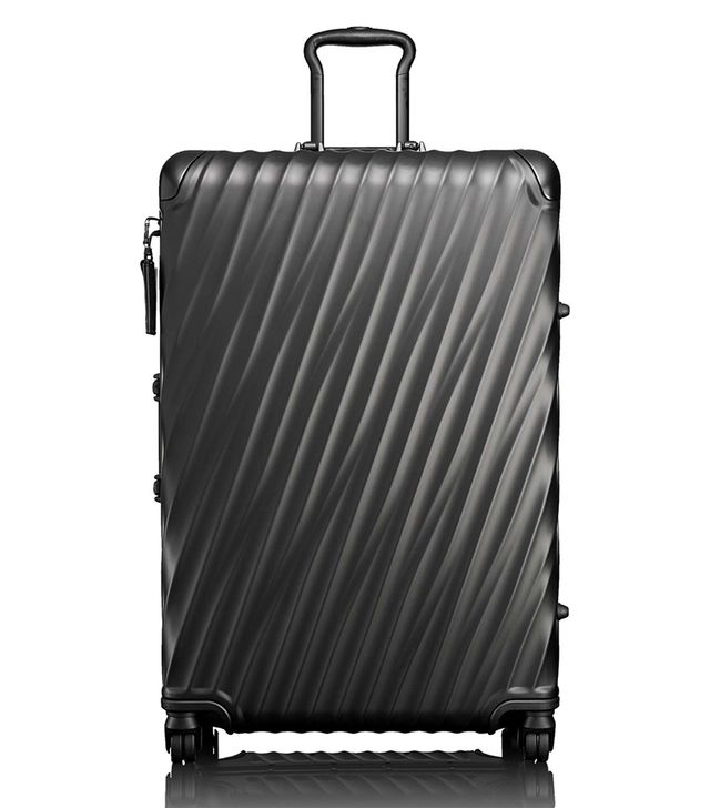 19 Degree Extended Trip Wheeled Aluminum Packing Case - Black