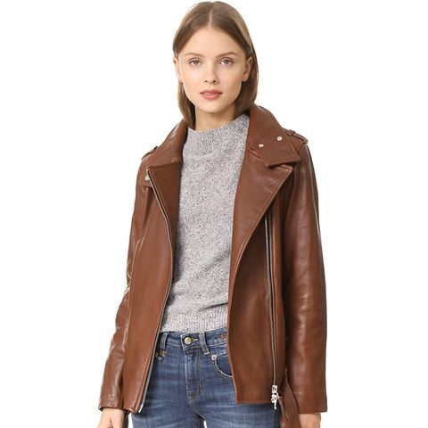 Selenia Leather Jacket