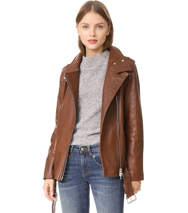 13 Cute Leather Jackets That Aren T Black Whowhatwear