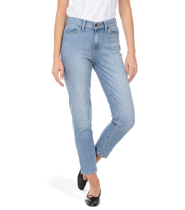 Mott & Bow Mom Jeans in Benson