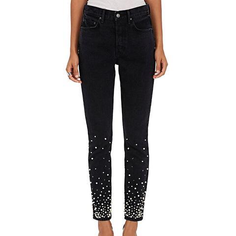 Karolina Embellished Skinny Jeans