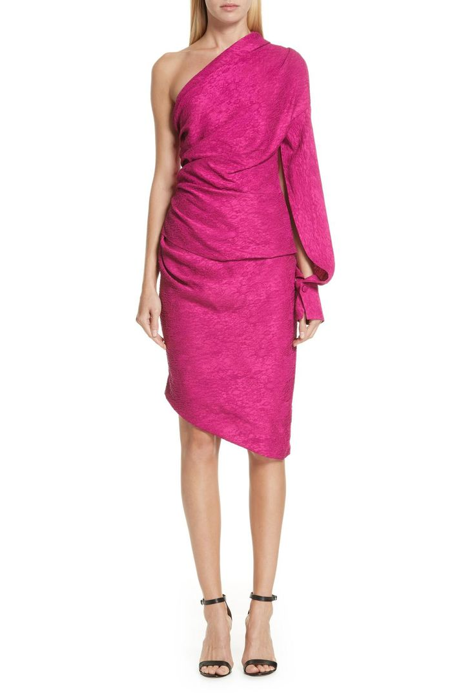 Ainsley One-Shoulder Dress