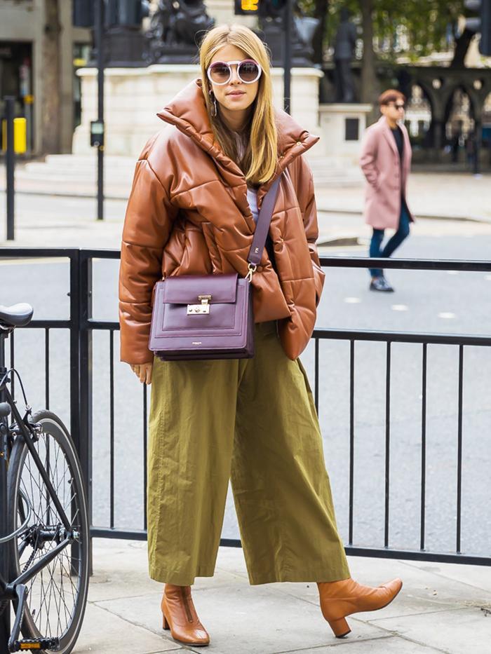 Monica Ainley London SS18 Street Style