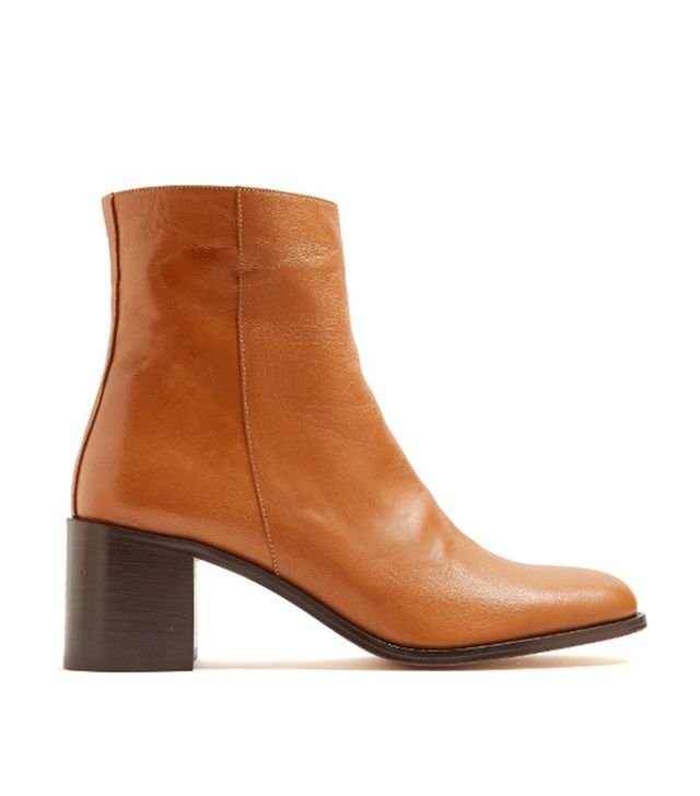 Fiorenza leather ankle boots