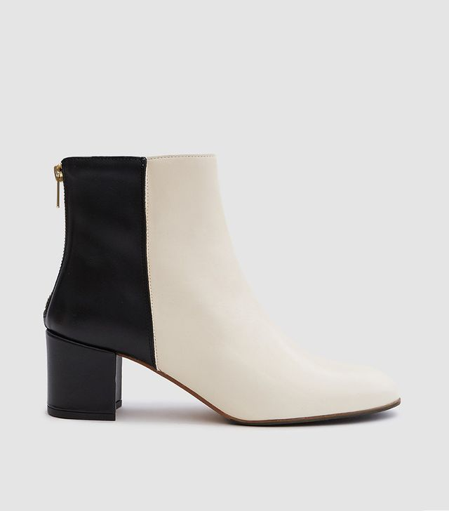 Mei Boot in Pearl/Black