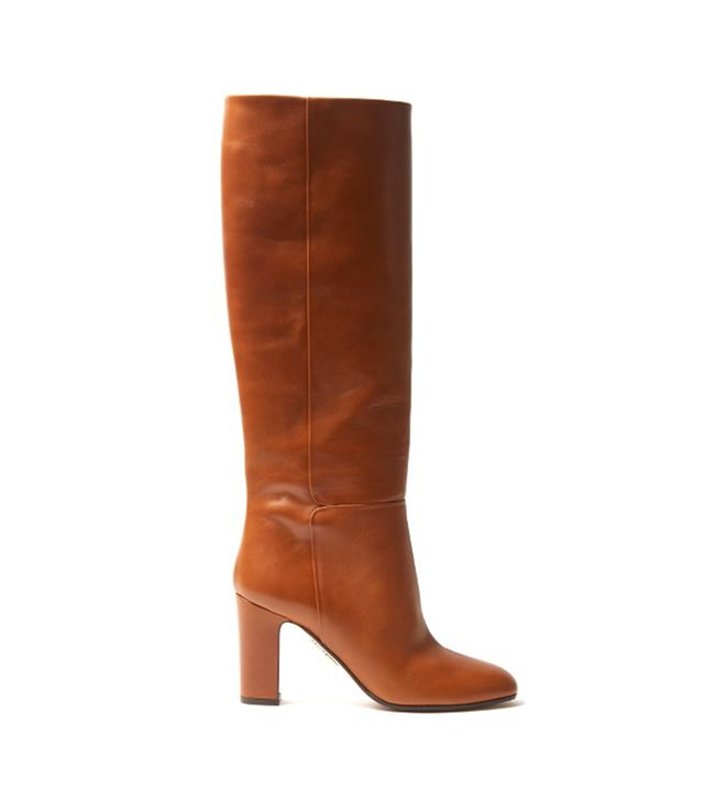 Brera block-heel leather boots