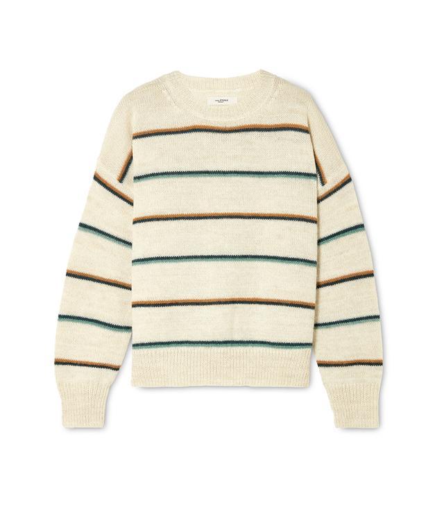 Gatlin Striped Alpaca-blend Sweater