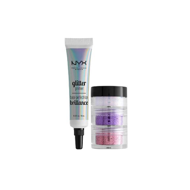 NYX #GlitterGoals Kit in Pink, Purple, & Luna