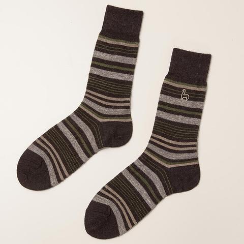 Alpaca Stripe Socks