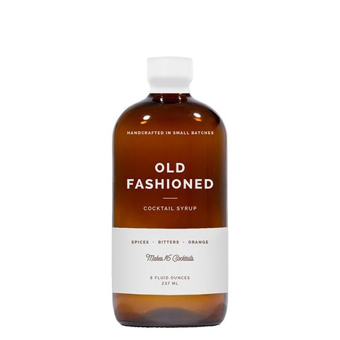 Old Fashioned Cocktail Syrup