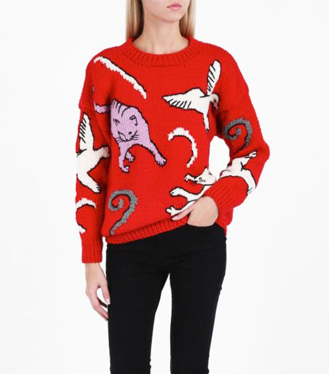 Christmas cat jumpers: Paul & Joe Cat Jumper