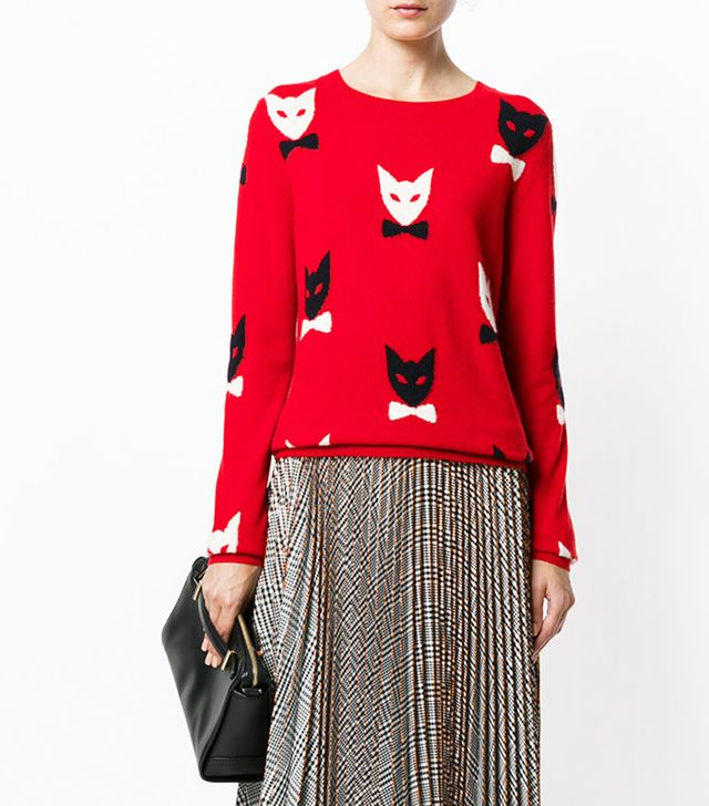 Christmas cat jumpers: Chinti & Parker Cashmere Cat Jumper