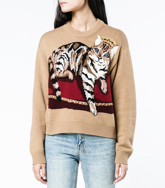 Christmas cat jumpers: Dolce & Gabbana Cashmere Cat Jumper