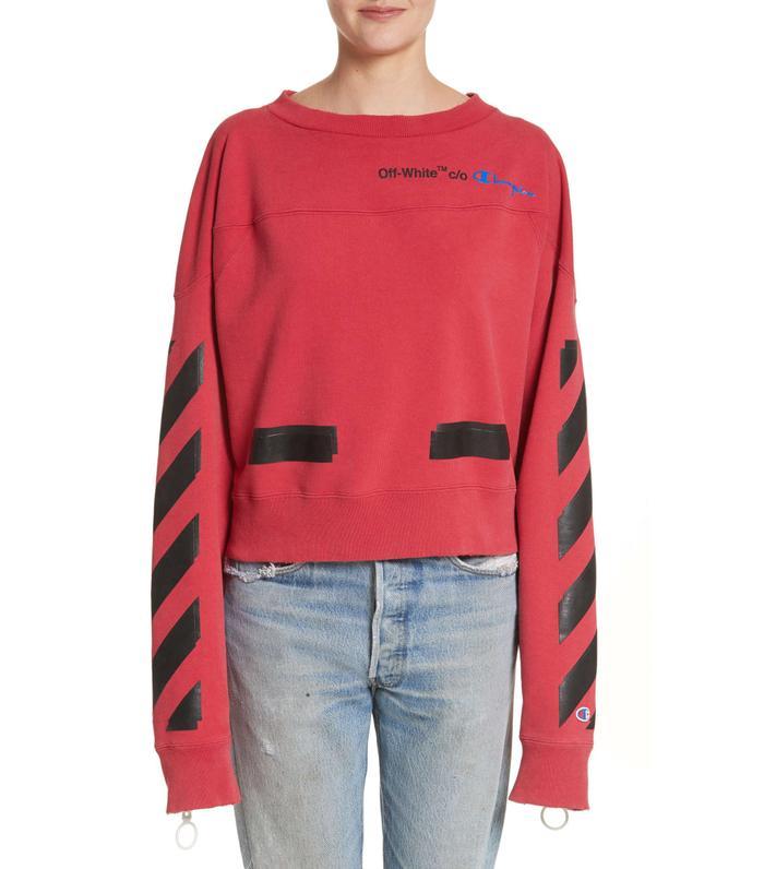 X Champion Crewneck Sweatshirt
