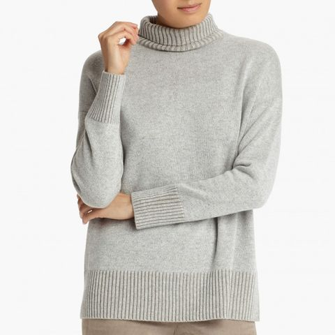 Cashmere Vanisé Turtleneck Sweater