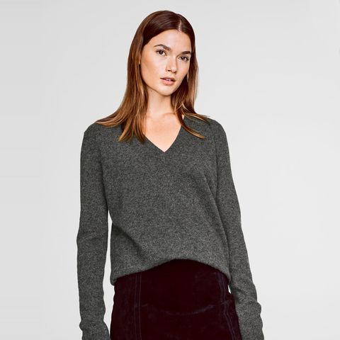 Essential Cashmere V-Neck