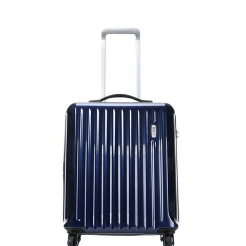 Riccione Blue Carry-On Spinner Luggage