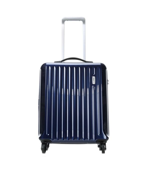 """Riccione Blue 21"""" Carry-On Spinner Luggage"""