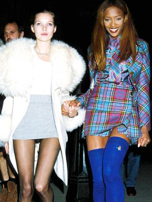 Supermodel Street Style: '90s Edition