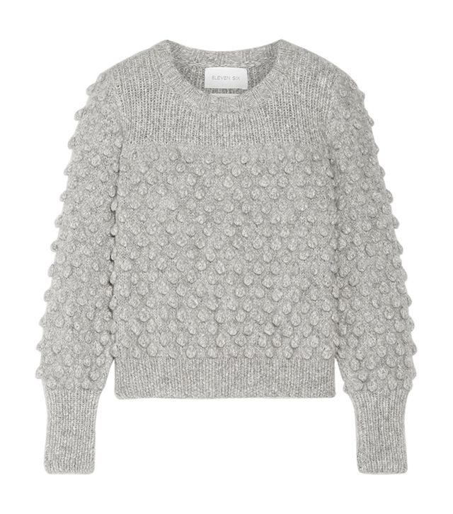 Camilla Pompom-embellished Alpaca-blend Sweater