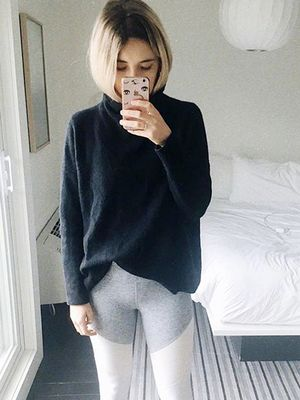 No, I Won't Take Off These Comfy Leggings and Sneakers