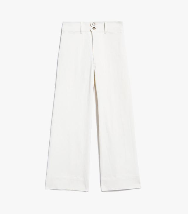 Merida Denim Pants in Cream