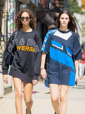The Non-Sloppy Way to Wear an Oversize T-Shirt
