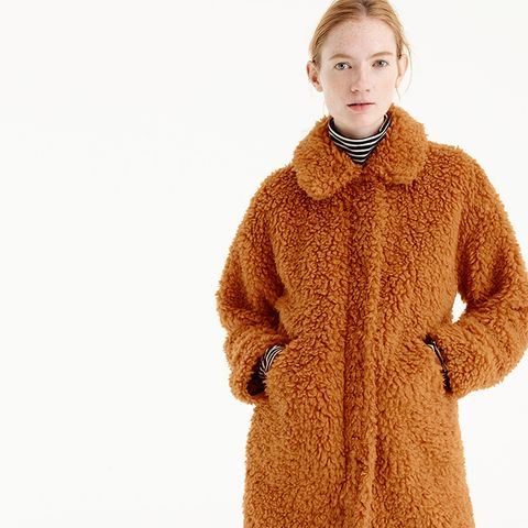 The Textured Teddy Coat