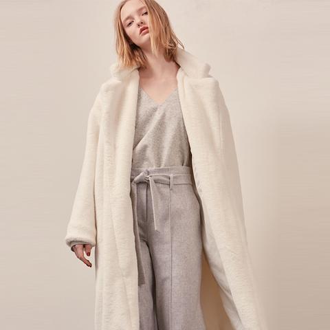 Stelen Shearling Coat