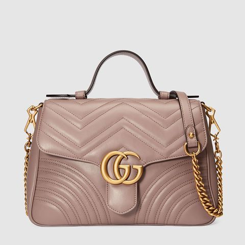 GG Marmont Small Top-Handle Bag