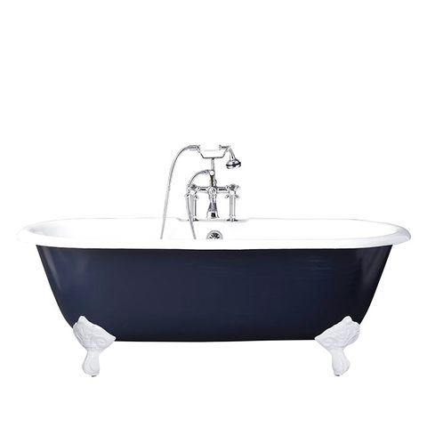 Double-Ended Claw Foot Tub
