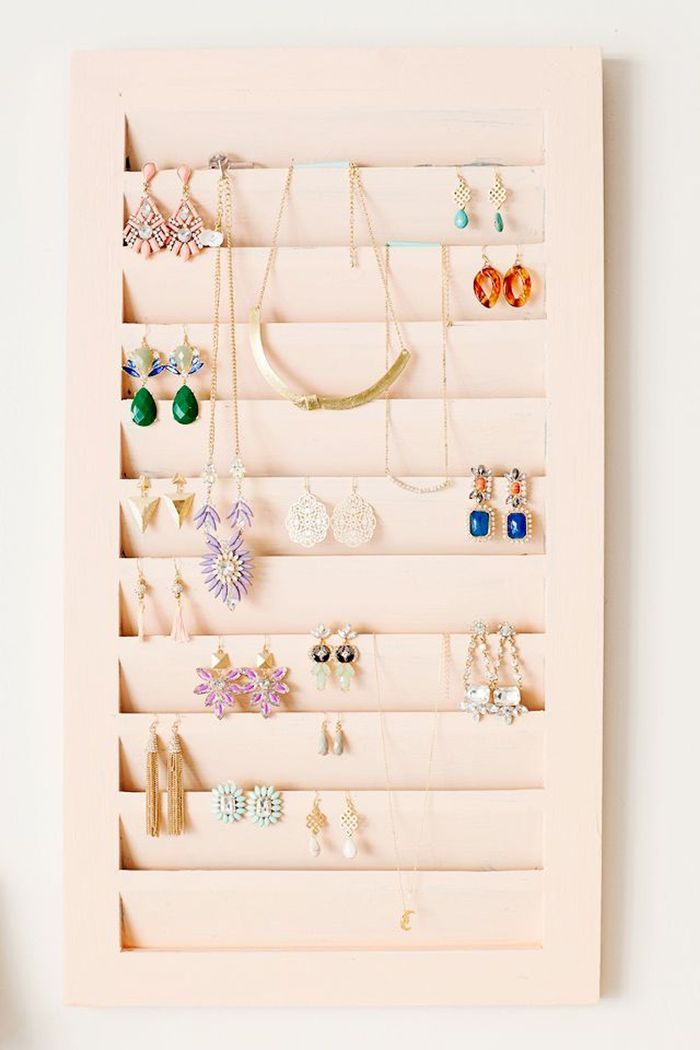 15 Earring Storage Ideas Your Jewelry Collection Needs Who What Wear